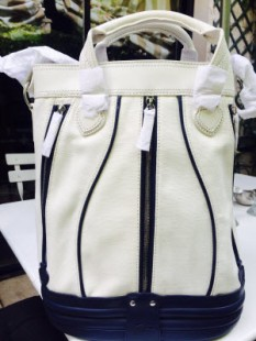 Lacoste sac white eclipse small