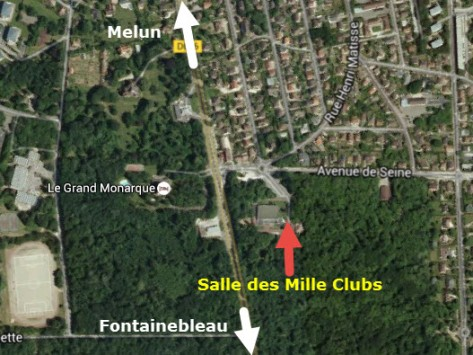 Mille clubs Carte