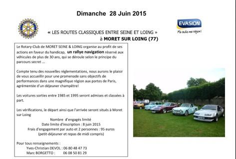 Rallye Moret